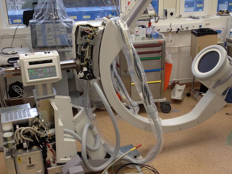 Ремонт рентген оборудования